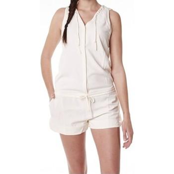 Abbigliamento Donna Tuta jumpsuit / Salopette Little Marcel Combishort Cosbi E15WSHO0203 Blanc Ivoire Bianco