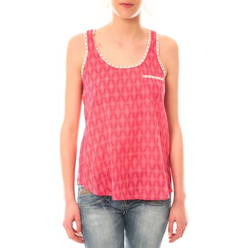 Abbigliamento Donna Top / T-shirt senza maniche Lara Ethnics Débardeur Ambre Rose Rosa