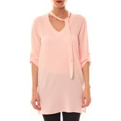 Abbigliamento Donna Abiti corti La Vitrine De La Mode Robe 156 By La Vitrine Rose Rosa