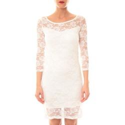 Abbigliamento Donna Abiti corti La Vitrine De La Mode Robe 158 By La Vitrine Écru Beige
