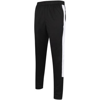 Abbigliamento Uomo Pantaloni da tuta Finden & Hales LV881 Nero/Bianco
