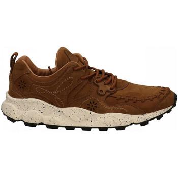 Scarpe Uomo Sneakers basse Flower Mountain YAMANO brown
