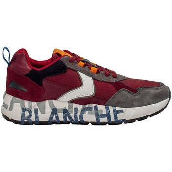 Scarpe Uomo Sneakers basse Voile Blanche CLUB16 ANTHRACITE-BURGUNDY Red