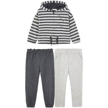 Abbigliamento Bambina Completo Mayoral  Gris