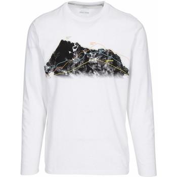Abbigliamento Uomo T-shirts a maniche lunghe Trespass  Bianco