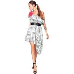 Abbigliamento Donna Abiti corti Denny Rose ATRMPN-29447 Bianco