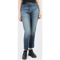 Abbigliamento Donna Jeans skynny Wrangler Slouchy Ocean Nights W27CAC69Y blue