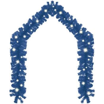 Casa Decorazioni festive VidaXL Ghirlanda 10 m Blu