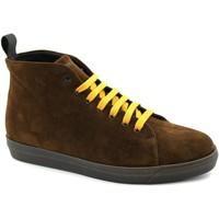Scarpe Uomo Sneakers alte Frau FRA-I21-26A5-CA Marrone
