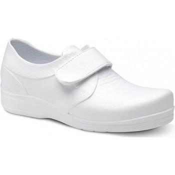 Scarpe Uomo Sneakers basse Feliz Caminar ZAPATO SANITARIO VELCRO UNISEX FLOTANTES VELCRO Bianco