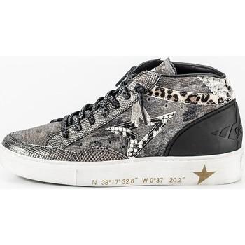 Scarpe Donna Sneakers basse Cetti 1267 Argenté