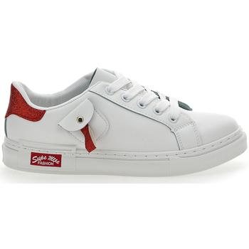 Scarpe Donna Sneakers basse Pushy Wamp 1502 BIANCO