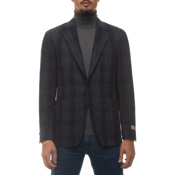 Abbigliamento Uomo Giacche Canali 20272-CF03550302 Blu