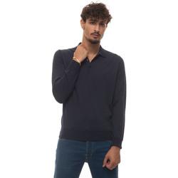 Abbigliamento Uomo T-shirt & Polo Canali C0017-MK00077305 Blu