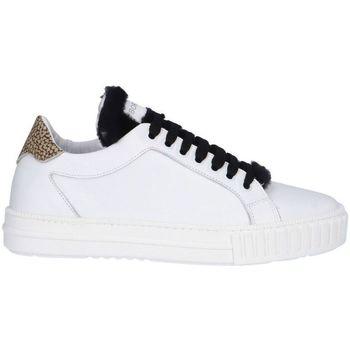 Scarpe Donna Sneakers basse Borbonese 6DV905AE9 Sneaker  Donna Bianco/nero Bianco/nero