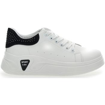 Scarpe Donna Sneakers basse Pushy Wamp 6603 BIANCO/NERO