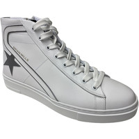 Scarpe Uomo Sneakers alte Brian Mills Bmls ATRMPN-29530 Bianco