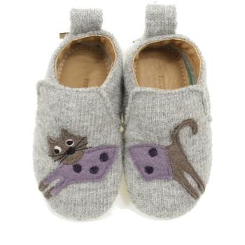 Scarpe Bambina Pantofole Haflinger CUCHOLINO GRIGIO