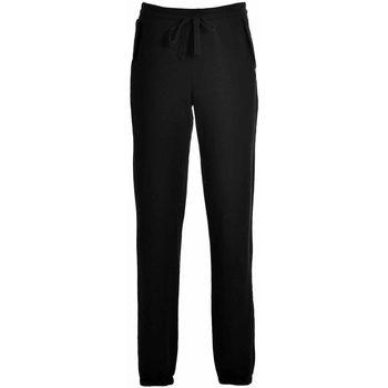 Abbigliamento Donna Pantaloni da tuta Deha PANTALONE TUTA JOGGER DONNA Black