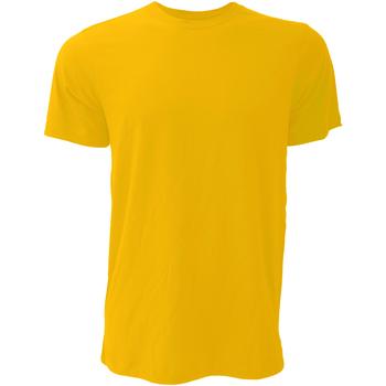 Abbigliamento Uomo T-shirt maniche corte Bella + Canvas CA3001 Dorato