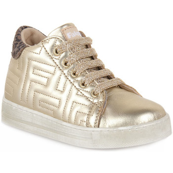 Scarpe Bambino Sneakers basse Naturino Q45 ORMEN PLATINUM TAUPE Marrone