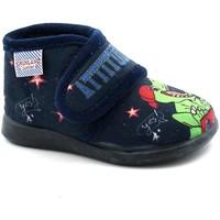 Scarpe Unisex bambino Pantofole Grunland GRU-I21-PA0667-BL Blu