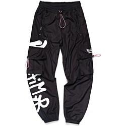 Abbigliamento Donna Pantaloni da tuta Disclaimer Side Graphic Sweatpant Nero Nero