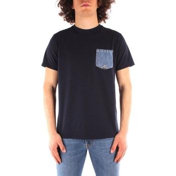 Abbigliamento Uomo T-shirt maniche corte Roy Rogers ATRMPN-29554 Blu