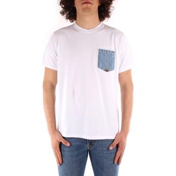 Abbigliamento Uomo T-shirt maniche corte Roy Rogers ATRMPN-29555 Bianco