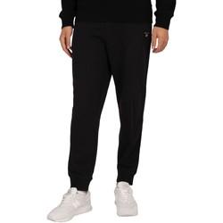Abbigliamento Uomo Pantaloni da tuta Gant Joggers originali nero