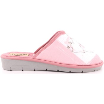 Scarpe Unisex bambino Pantofole Riposella 5 - 8012 Rosa