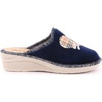 Scarpe Unisex bambino Pantofole Riposella 3 - 6014 Blu