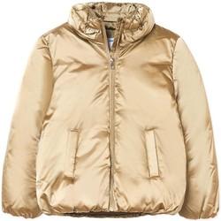 Abbigliamento Bambina Piumini Mayoral  Oro