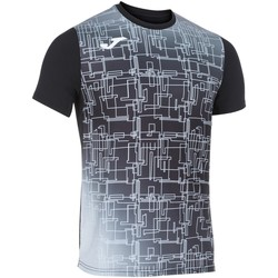 Abbigliamento Uomo T-shirt maniche corte Joma - T-shirt nero 101929.100 NERO