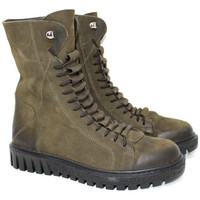 Scarpe Donna Sneakers alte Tiurai ANFIBIO  - SCANDAL VERDE Verde