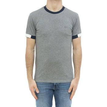Abbigliamento Uomo T-shirt maniche corte Sun68 ATRMPN-29573 Grigio