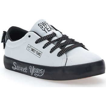 Scarpe Bambina Sneakers Sweet Years 8018 BIANCO