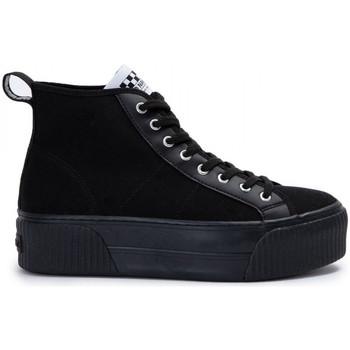 Scarpe Donna Sneakers alte No Name Iron mid Nero