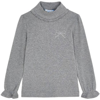 Abbigliamento Bambina T-shirts a maniche lunghe Mayoral  Gris