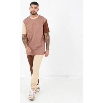 Abbigliamento Uomo T-shirt maniche corte Sixth June T-shirt  Tricolor Regular beige