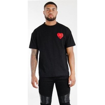 Abbigliamento Uomo T-shirt maniche corte Sixth June T-shirt  Oversize noir