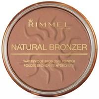 Bellezza Donna Fondotinta & primer Rimmel London Natural Bronzer Terra Abbronzante  021 Sun Light