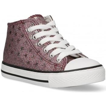 Scarpe Bambina Sneakers alte Bubble 58907 rosa