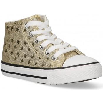 Scarpe Bambina Sneakers alte Bubble 58908 oro