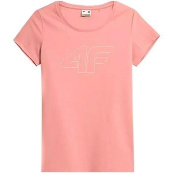 Abbigliamento Donna T-shirt maniche corte 4F TSD353 Rosa