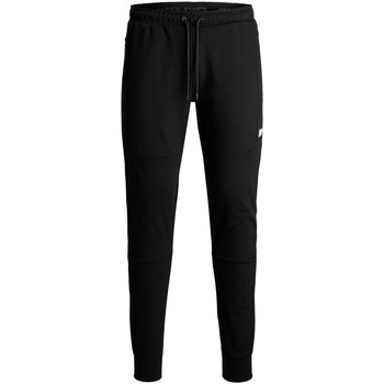 Abbigliamento Unisex bambino Pantaloni da tuta Jack & Jones Pantalon enfant  will air black