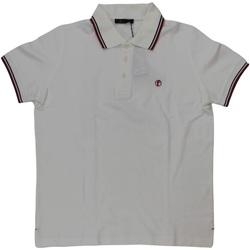 Abbigliamento Uomo Polo maniche corte Ferrante ATRMPN-29629 Bianco