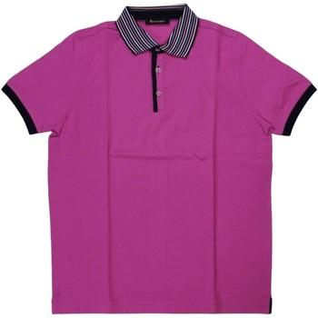 Abbigliamento Uomo Polo maniche corte Ferrante ATRMPN-29631 Viola