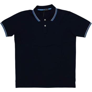 Abbigliamento Uomo Polo maniche corte Ferrante ATRMPN-29633 Blu
