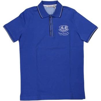 Abbigliamento Uomo Polo maniche corte Ferrante ATRMPN-29635 Blu